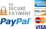 The Shirt Sale secure credit card payment with PayPal